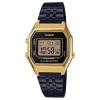 นาฬิกา CASIO ดิจิตอล สีดำทอง รุ่น LA680WEGB-1A STANDARD DIGITAL ของแท้ รับประกันศูนย์ 1 ปี