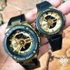 นาฬิกา Casio G-SHOCK x BABY-G คู่เหล็กSteel เซ็ตคู่รัก G-STEEL x G-MS series รุ่น GST-400G-1A9A x MSG-400G-1A2 Pair set ของแท้ รับประกันศูนย์ 1 ปี