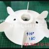จำหน่ายใบพัดลมพลาสติก ขนาด od 240mm id 42 mm L 60mm พร้อมส่งคะ ขายปลีกและส่ง