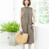 Leila Playsuit_Mocca