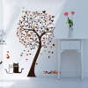 wall sticker ต้นไม้เลิฟๆ a70