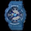 นาฬิกา Casio Baby-G ลายยีนส์ Denim Color series รุ่น BA-110DC-2A2 (สี Blue Jean) ของแท้ รับประกันศูนย์ 1 ปี