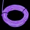 EL Wire 5 เมตร + รางถ่าน AA 2 ก้อน / สีม่วง