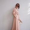 Wrapped Maxi Dress สีครีม