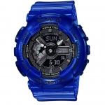นาฬิกา Casio Baby-G BA-110CR เจลลี่ใส CORAL REEF series รุ่น BA-110CR-2A (เจลลี่สีน้ำทะเล) ของแท้ รับประกันศูนย์ 1 ปี
