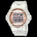นาฬิกา Casio Baby-G STANDARD DIGITAL รุ่น BG-169G-7B (Jelly ขาวใสพิ้งค์โกลด์) ของแท้ รับประกันศูนย์ 1 ปี
