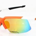 แว่นตาปั่นจักรยาน Speedcoupe สีส้ม-ขาว