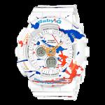 นาฬิกา Casio Baby-G BA-120SPL Splatter Pattern series รุ่น BA-120SPL-7A ของแท้ รับประกัน1ปี