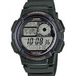 นาฬิกา Casio 10 YEAR BATTERY รุ่น AE-1000W-3AV ของแท้ รับประกัน 1 ปี