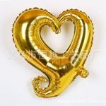 ฟอยล์ตกแต่งรูปหัวใจ [สีทอง]