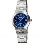 นาฬิกา คาสิโอ Casio STANDARD Analog'women รุ่น LTP-1241D-2A2DR ของแท้ รับประกันศูนย์ 1 ปี