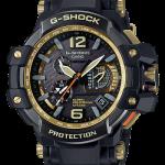 นาฬิกา Casio G-SHOCK นักบิน GRAVITYMASTER GPS Hybrid Wave Captor Black & Gold series รุ่น GPW-1000GB-1A ของแท้ รับประกันศูนย์ 1 ปี (CMG)