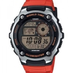 นาฬิกา คาสิโอ Casio 10 YEAR BATTERY รุ่น AE-2100W-4AV ของแท้ รับประกันศูนย์ 1 ปี