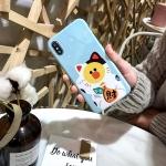 เคส iPhone แมวกวัก แมวนำโชค สีฟ้า