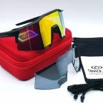 OBAOLAYแว่นตาปั่นจักรยาน SpeedCraft 100% สีดำ