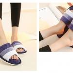 BS01 รองเท้าใส่ในบ้าน NAVY BLUE size 43-44