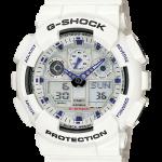 นาฬิกา คาสิโอ Casio G-Shock Standard Analog-Digital รุ่น GA-100A-7A ของแท้ รับประกันศูนย์ 1 ปี