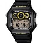 นาฬิกา คาสิโอ Casio 10 YEAR BATTERY รุ่น AE-1300WH-1AV ของแท้ รับประกันศูนย์ 1 ปี
