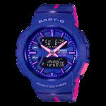 นาฬิกา คาสิโอ Casio Baby-G for Running BGA-240L Love to Run series รุ่น BGA-240L-2A1 ของแท้ รับประกันศูนย์ 1 ปี