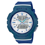 นาฬิกา Casio Baby-G for Running BGA-240 series Twotone Color Block รุ่น BGA-240-2A2 (ฟ้าควันบุหรี่) ของแท้ รับประกัน1ปี