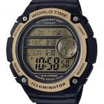 นาฬิกา คาสิโอ Casio แบตเตอรี่ 10 ปี รุ่น AE-3000W-9AV ของแท้ รับประกัน 1 ปี