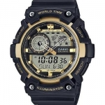 นาฬิกา Casio STANDARD Analog-Digital รุ่น AEQ-200W-9AV ของแท้ รับประกัน 1 ปี