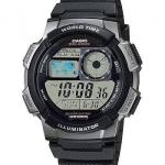 นาฬิกา คาสิโอ Casio 10 YEAR BATTERY รุ่น AE-1000W-1BV ของแท้ รับประกันศูนย์ 1 ปี
