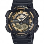 นาฬิกา Casio 10 YEAR BATTERY รุ่น AEQ-110BW-9AV ของแท้ รับประกัน 1 ปี