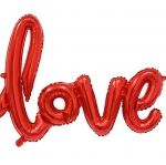 ฟอยล์ตกแต่ง Love [สีแดง]