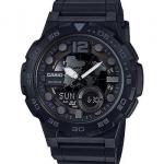 นาฬิกา Casio 10 YEAR BATTERY รุ่น AEQ-100W-1BV (ฺBlack Out) ของแท้ รับประกัน 1 ปี