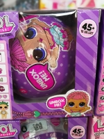 New! ไข่เซอร์ไพร์ส ไข่สุ่ม ไข่LOL ตุ๊กตาของเล่น ไข่สุ่มเซอร์ไพรส์ LOL Surprise กล่องสีม่วง (แพ็คดี่ยว)