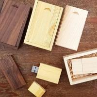 แฟลชไดร์ไม้ - Wood USB Flash Drive