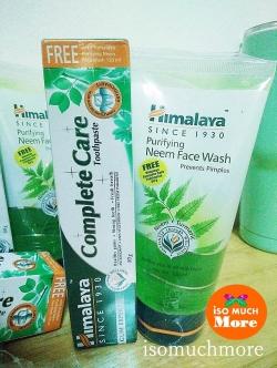 แถมฟรียาสีฟัน! Himalaya Purifying Neem Face Wash 150ml ขายดีอันดับ 1