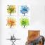 ภาพต้นไม้ colorful 4ต้น Arthome364 thumbnail 1