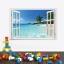 สติ๊กเกอร์หน้าต่างทะเล a632 thumbnail 3