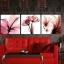 ภาพแต่งห้องสวยๆ ดอกชบา X-ray 1ชุดได้ 3ภาพ Art-XF thumbnail 1