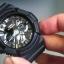 นาฬิกา คาสิโอ Casio G-Shock Standard Analog-Digital รุ่น GA-201-1A ของแท้ รับประกันศูนย์ 1 ปี thumbnail 5