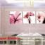 ภาพแต่งห้องสวยๆ ดอกชบา X-ray 1ชุดได้ 3ภาพ Art-XF thumbnail 8