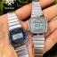 นาฬิกา CASIO ดิจิตอล สีเงินมินิ รุ่น LA670WA-1 STANDARD DIGITAL RETRO CLASSIC ของแท้ รับประกันศูนย์ 1 ปี thumbnail 3