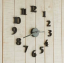 นาฬิกาติดผนัง DIY ขนาด 40 ซม CD111 สีดำ thumbnail 1