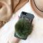 เคส iPhone ปอมปอม สีน้ำเขียว thumbnail 1