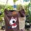 กระเป๋าเพ้นท์ลายน้องหมา i003