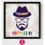 AG06 ภาพ Hipster ขนาด30*30 ซม/ภาพ thumbnail 3