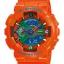 นาฬิกา คาสิโอ Casio G-Shock Limited Hyper Color รุ่น GA-110A-4 ( ส้ม ไฮเปอร์) หายาก ของแท้ รับประกันศูนย์ 1 ปี thumbnail 1