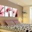 ภาพแต่งห้องสวยๆ ดอกชบา X-ray 1ชุดได้ 3ภาพ Art-XF thumbnail 13