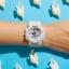 นาฬิกา Casio Baby-G Girl's Generation Gold Attractive Accent series รุ่น BA-110GA-7A1 (สีขาวขีดทอง) ของแท้ รับประกันศูนย์ 1 ปี thumbnail 4