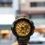 นาฬิกา Casio Baby-G BGA-195M Metal Dial series รุ่น BGA-195M-1A ดำ-ทอง ของแท้ รับประกันศูนย์ 1 ปี thumbnail 2