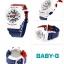 นาฬิกา Casio Baby-G White Tricolor series รุ่น BA-110TR-7A ของแท้ รับประกันศูนย์ 1 ปี thumbnail 2