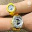 """นาฬิกา Casio Baby-G G-MS """"G-Steel Lady"""" MSG-400 series รุ่น MSG-400-9A สีเหลือง (ไม่วางขายในไทย) ของแท้ รับประกันศูนย์ 1 ปี thumbnail 3"""