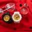 นาฬิกา Casio Baby-G BGA-195M Metal Dial series รุ่น BGA-195M-4A แดงทับทิม ของแท้ รับประกัน1ปี thumbnail 7
